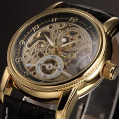 Hussar Skeleton Watch