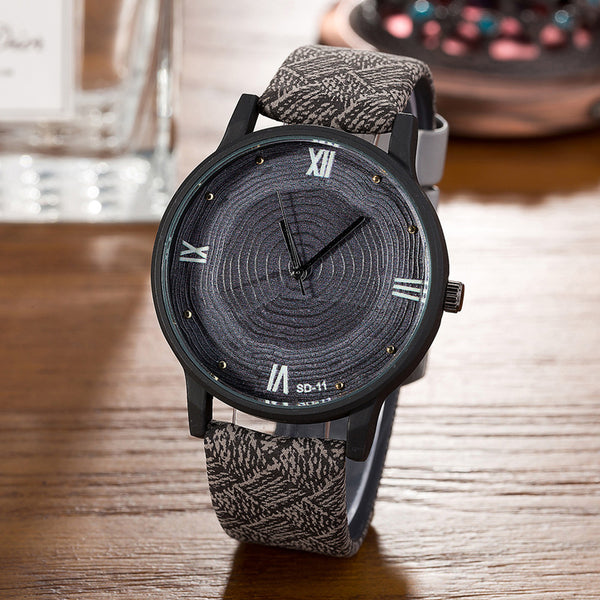 Growth Wooden Watch