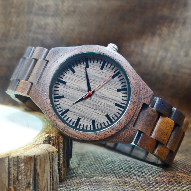 Conservative Wooden Watch