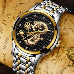 Dragon Sculpture Watch