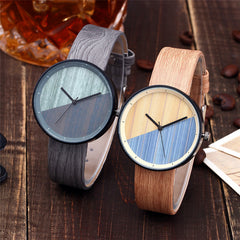 Due Wooden Watch