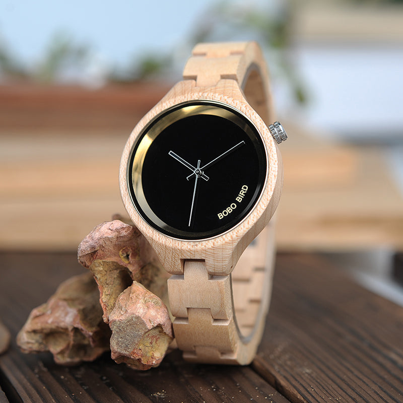 City Wooden Watch