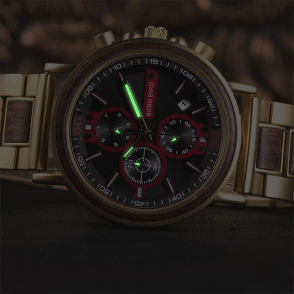 Vitality Wooden Watch