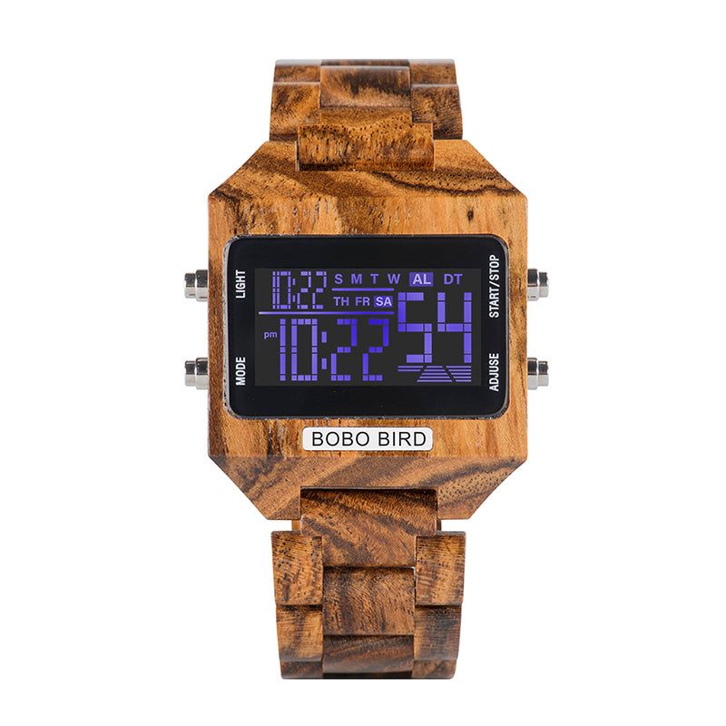 Capitol Wooden Watch