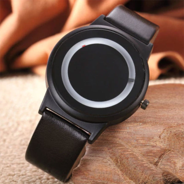 Rotary Leather Minimalist Watch