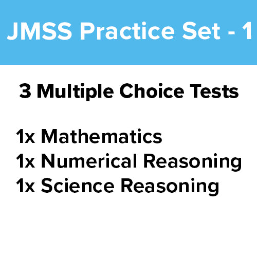 JMSS Practice Test: Bundle Pack [3 Practice Tests] - 1