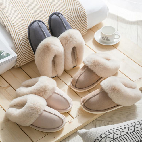 Oh-So-Cozy Faux Fur Slippers