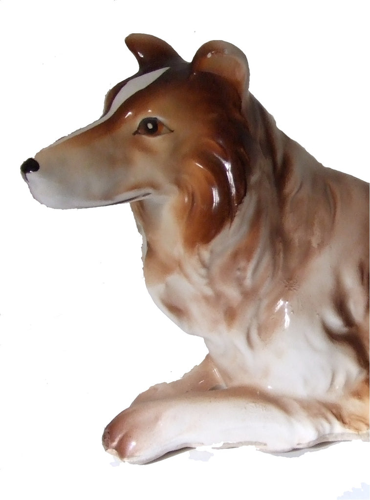 Scottish Collie Large Figurine, Japan
