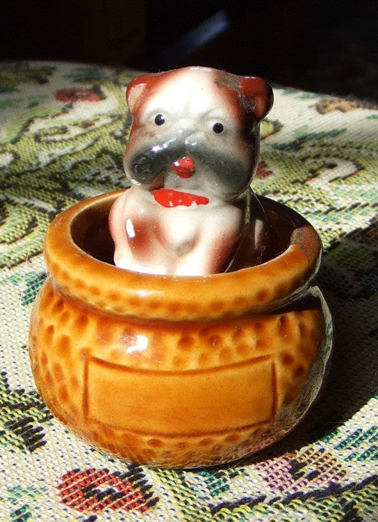 Bobble-Head Bulldog, Early 20th Century