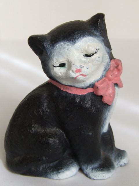 Hubley Cast Iron Kitty Paper Weight