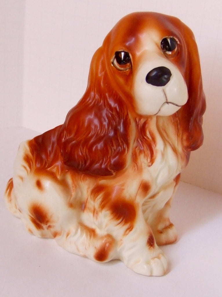 Napcoware Cocker Spaniel Planter, Import Japan, C6717