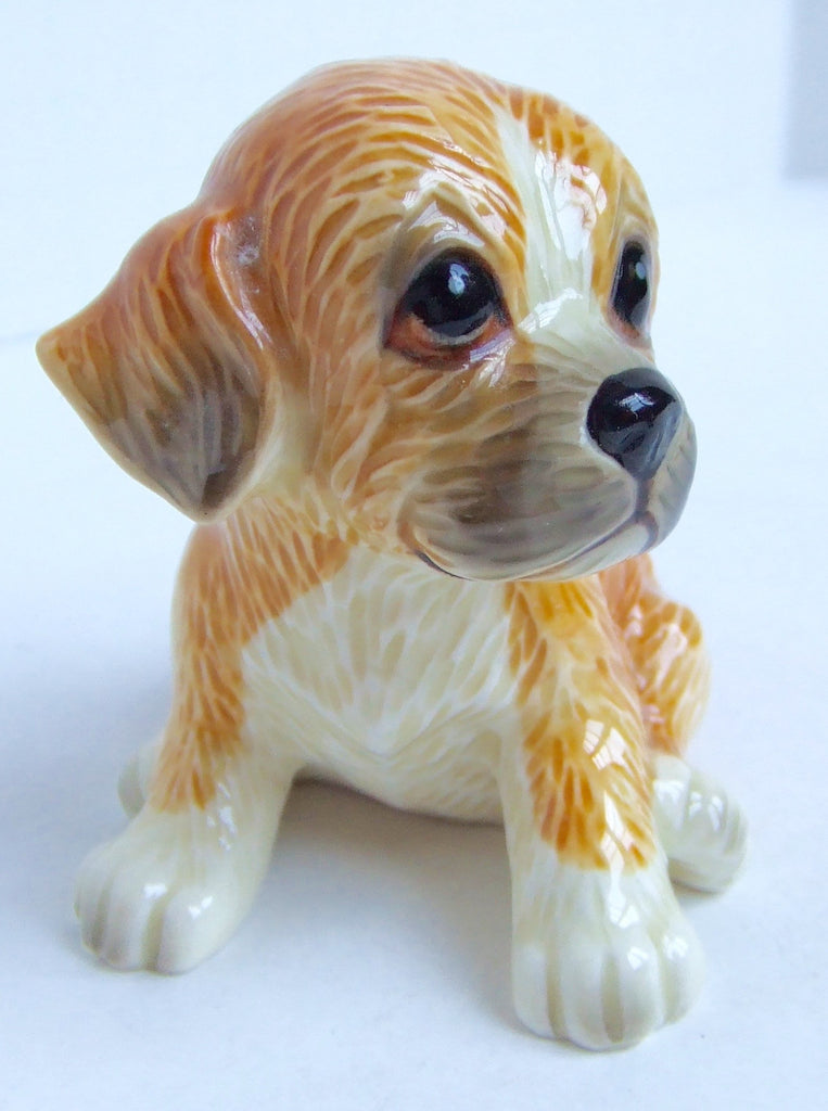 Labrador Retriever Puppy Figurine, Norcrest, Made in Japan