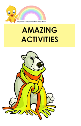 Amazing Activities - Digital Download