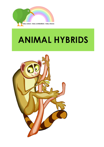 Animal Hybrids - Digital Download