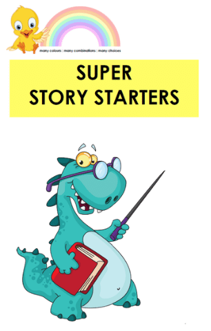 Super Story Starters - Digital Download