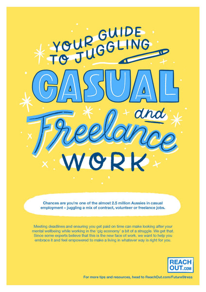 Flyer PDF: Your guide to juggling casual and freelance work