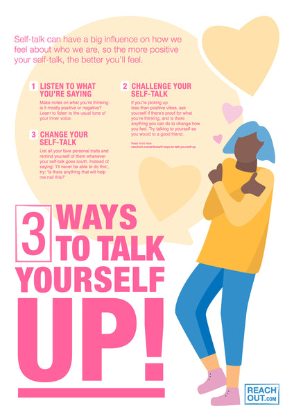 Poster PDF: Three ways to talk yourself up