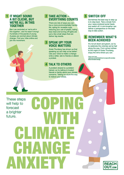 Poster PDF: Coping with climate change anxiety