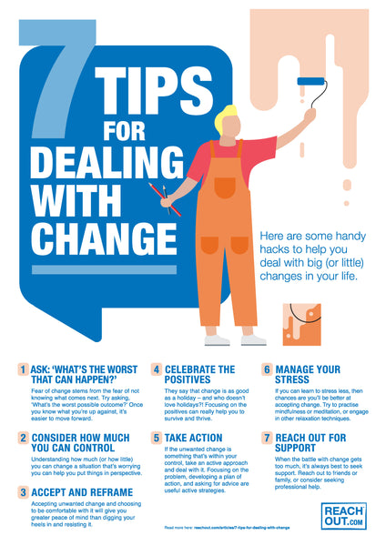 Poster PDF: 7 tips for dealing with change
