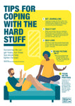 Poster PDF: Tips for coping with the hard stuff