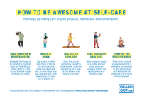 Students Collateral Pack: Wellbeing Posters and Postcards