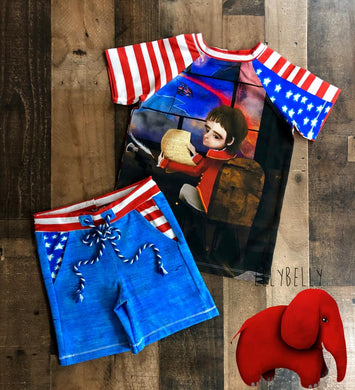 CLEARANCE!!!! 4Th of July 2 Pc Size 4/5/6