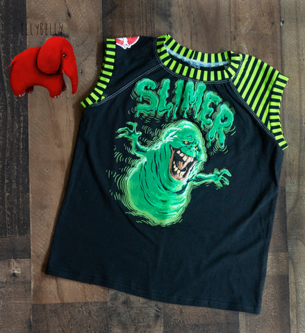 Slimer Sleeveless Raglan Shirt Size 5/6/7