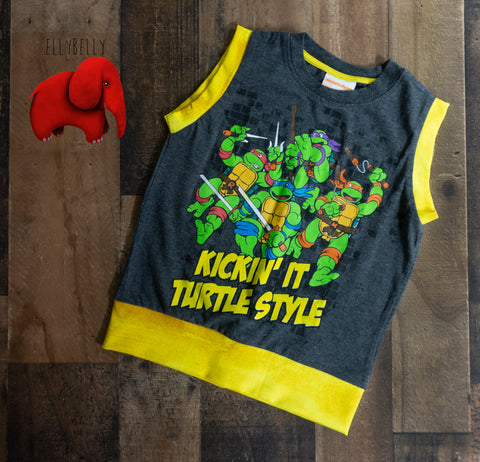 TMNT Sleeveless Shirt Size 4/5