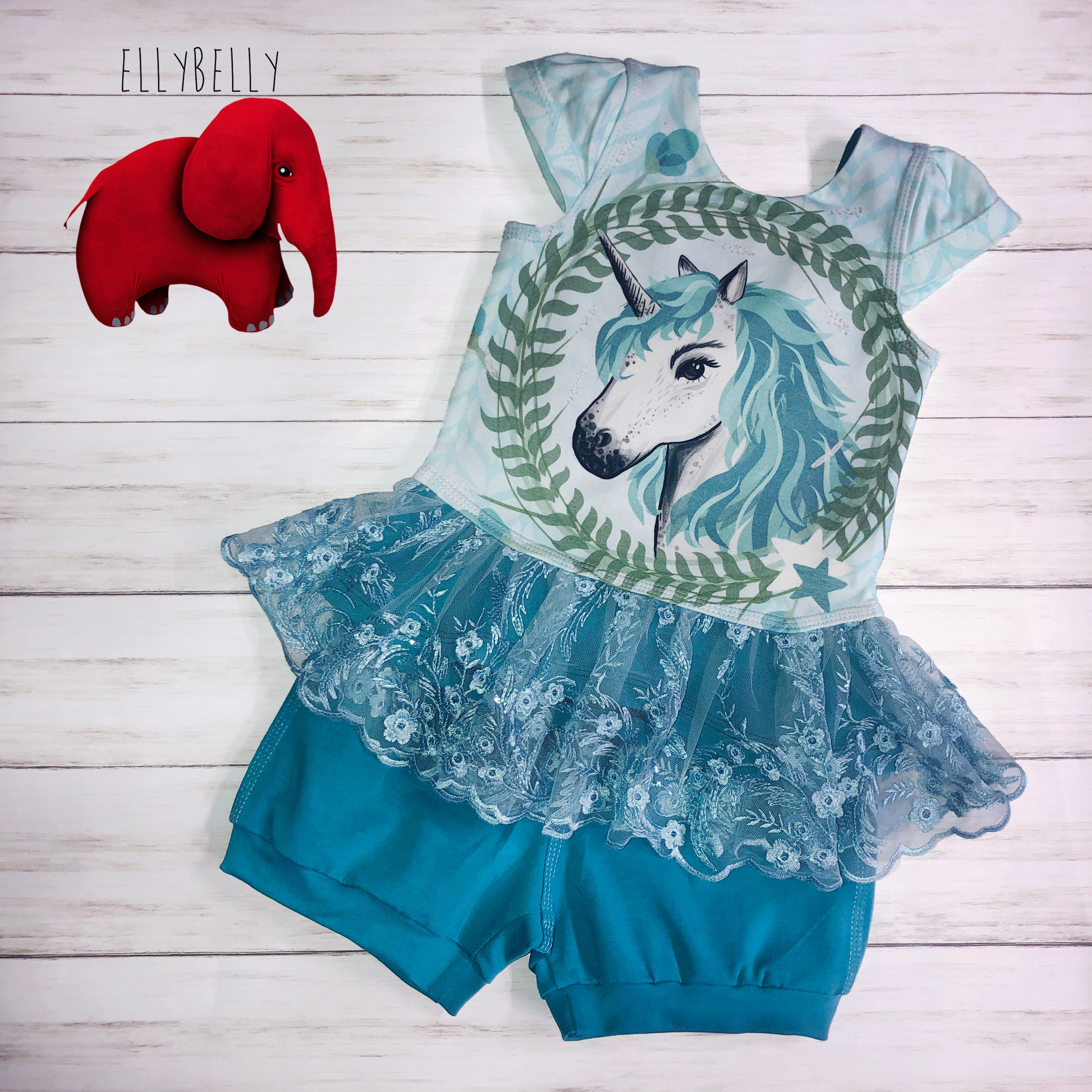 Unicorn 2Pc Set Size 4/5