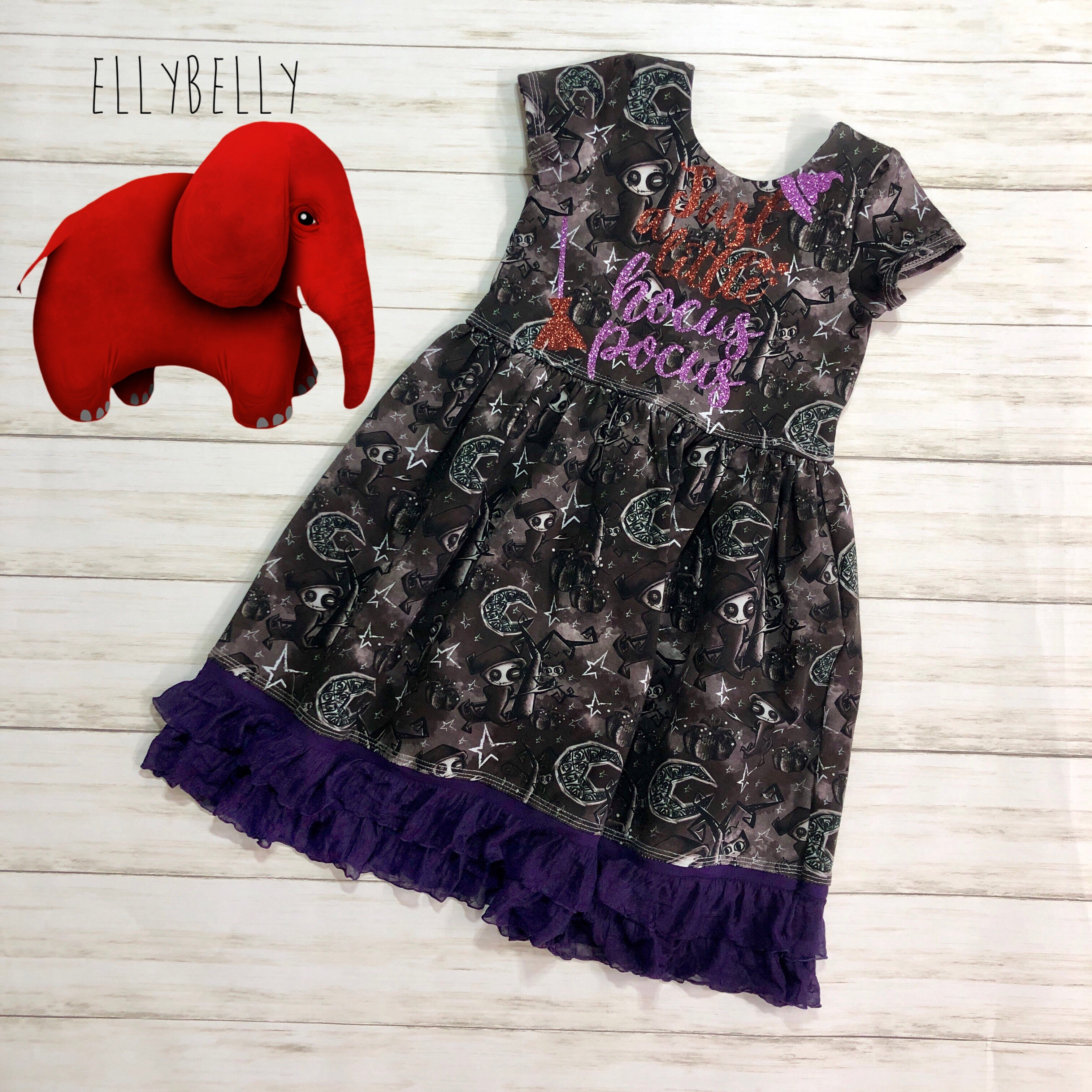 Just a Little Hocus Pocus Dress Size 4T/5