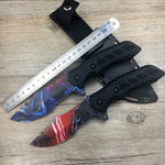 3D Printed Fixed Blade Knife with Bag