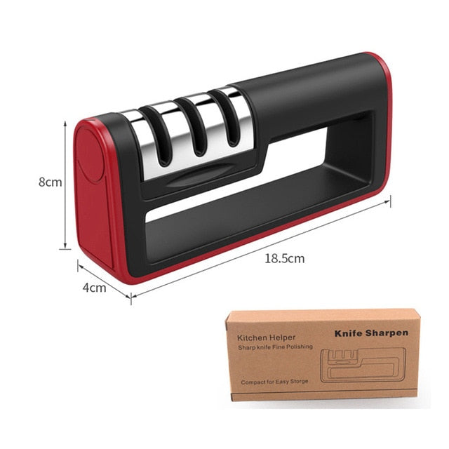 Professional 3 Stages Knife Sharpener
