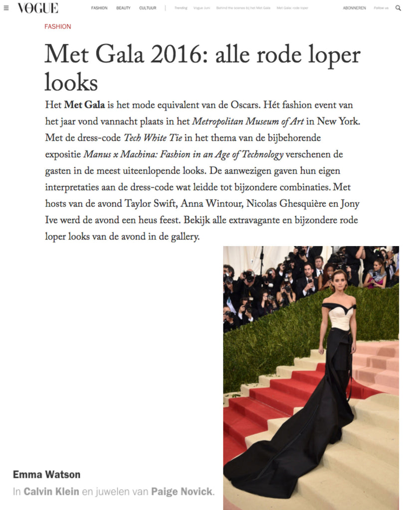 Merci, Vogue.NL