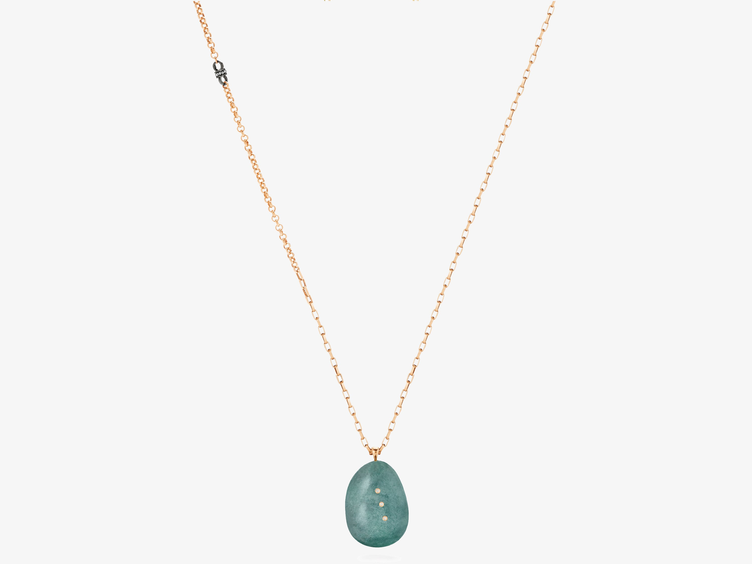 Aventurine Gem Story Necklace