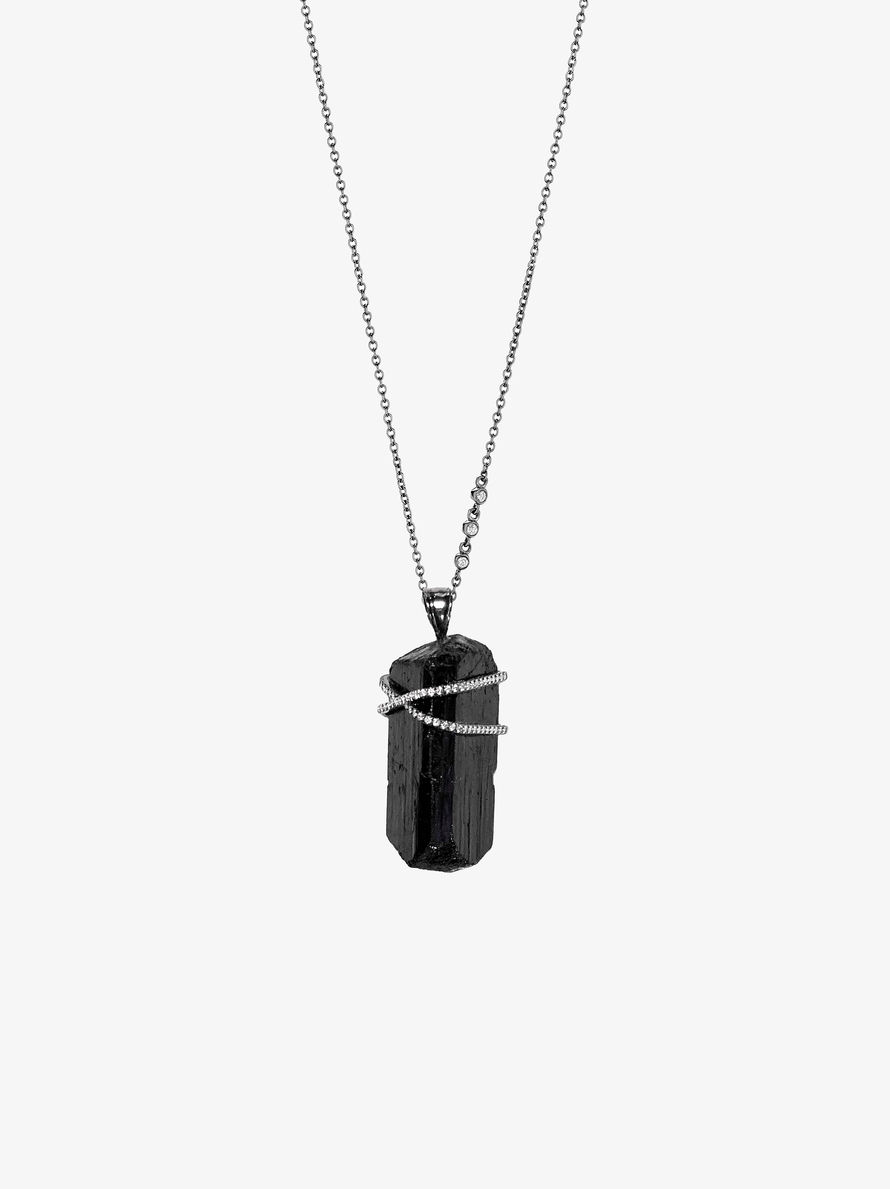 Black Tourmaline Rapture Necklace