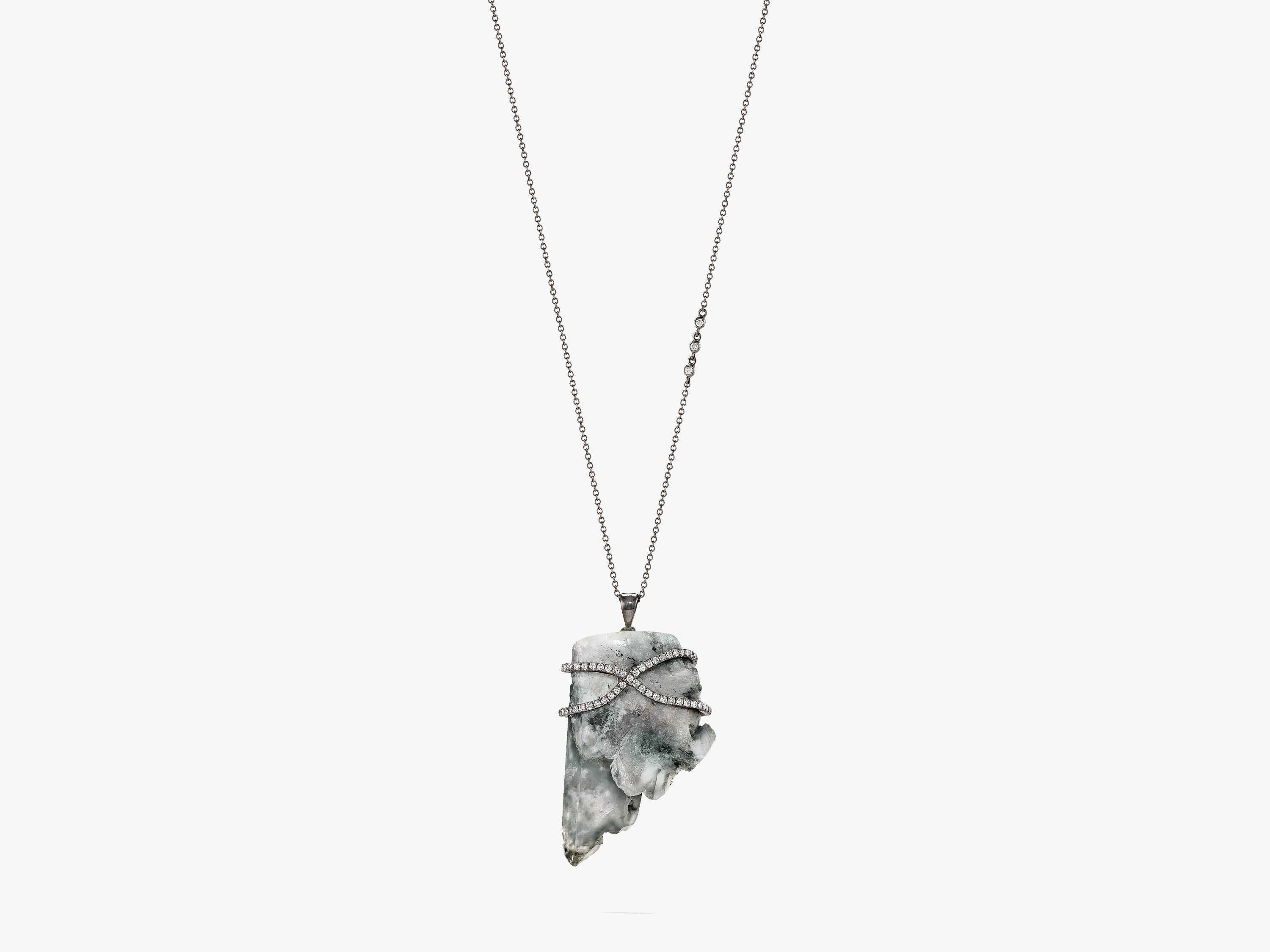 Edenite Quartz Rapture Necklace