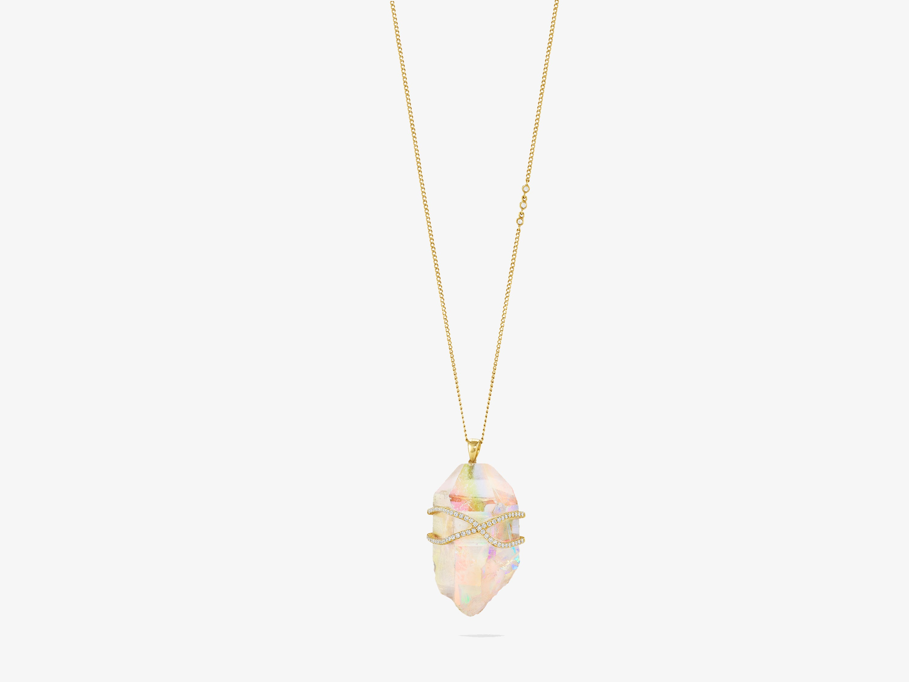 Opal Aura Rapture Necklace