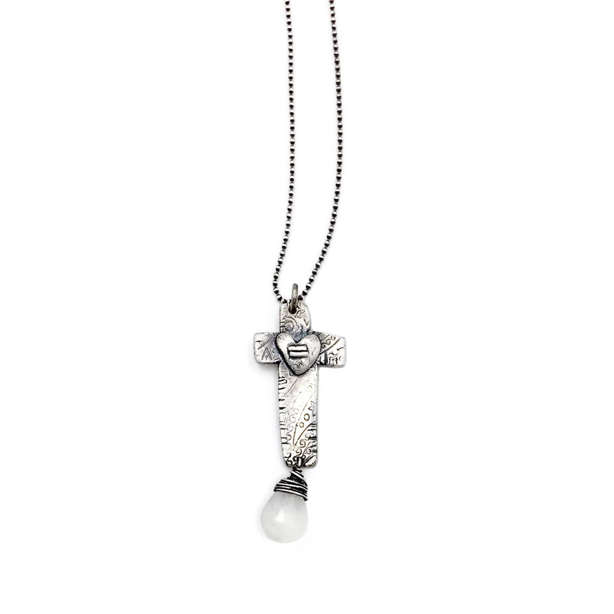 Equality Cross with Gemstone