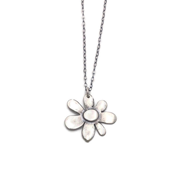 Spring Bloom Pendant on Light Cable Chain