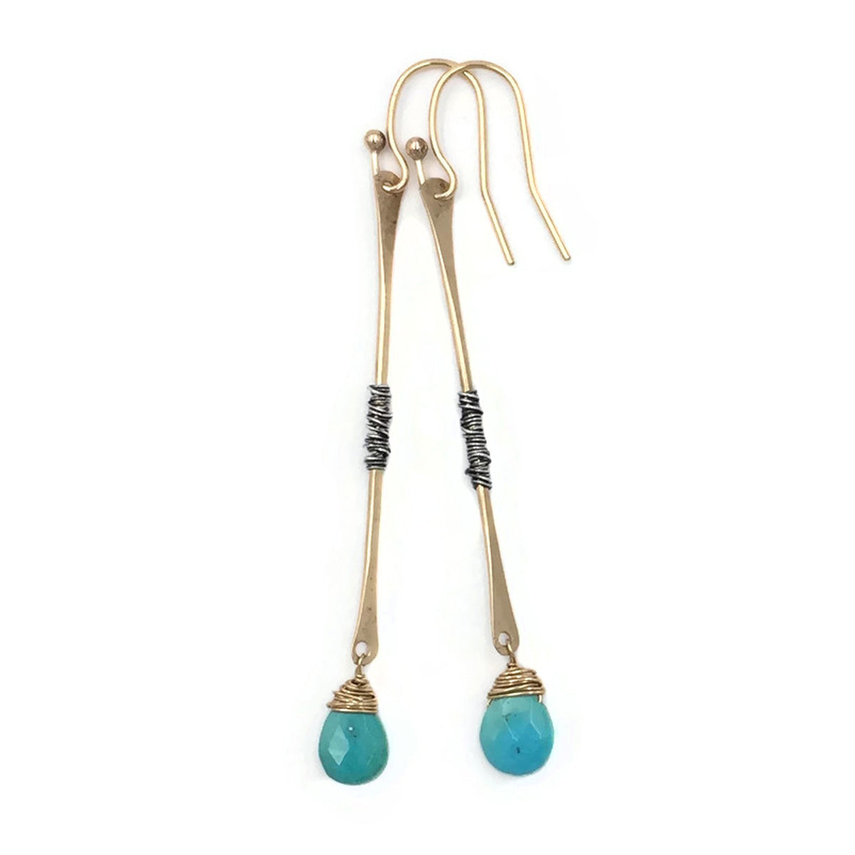 Gold Stick with Az. Turquoise