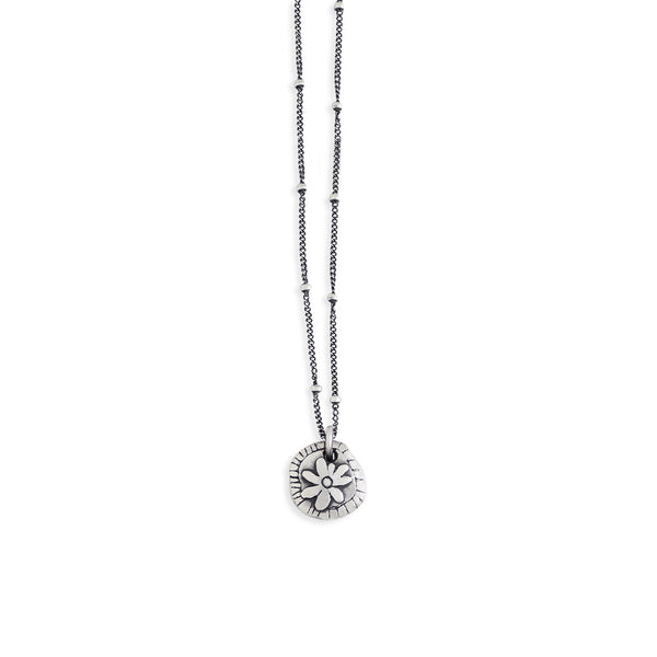 Circle Flower Necklace