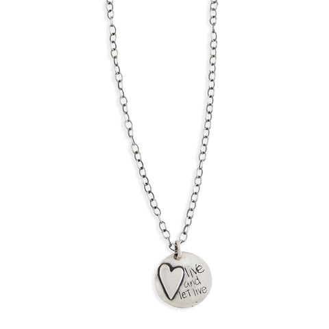Live and Let Live Necklace