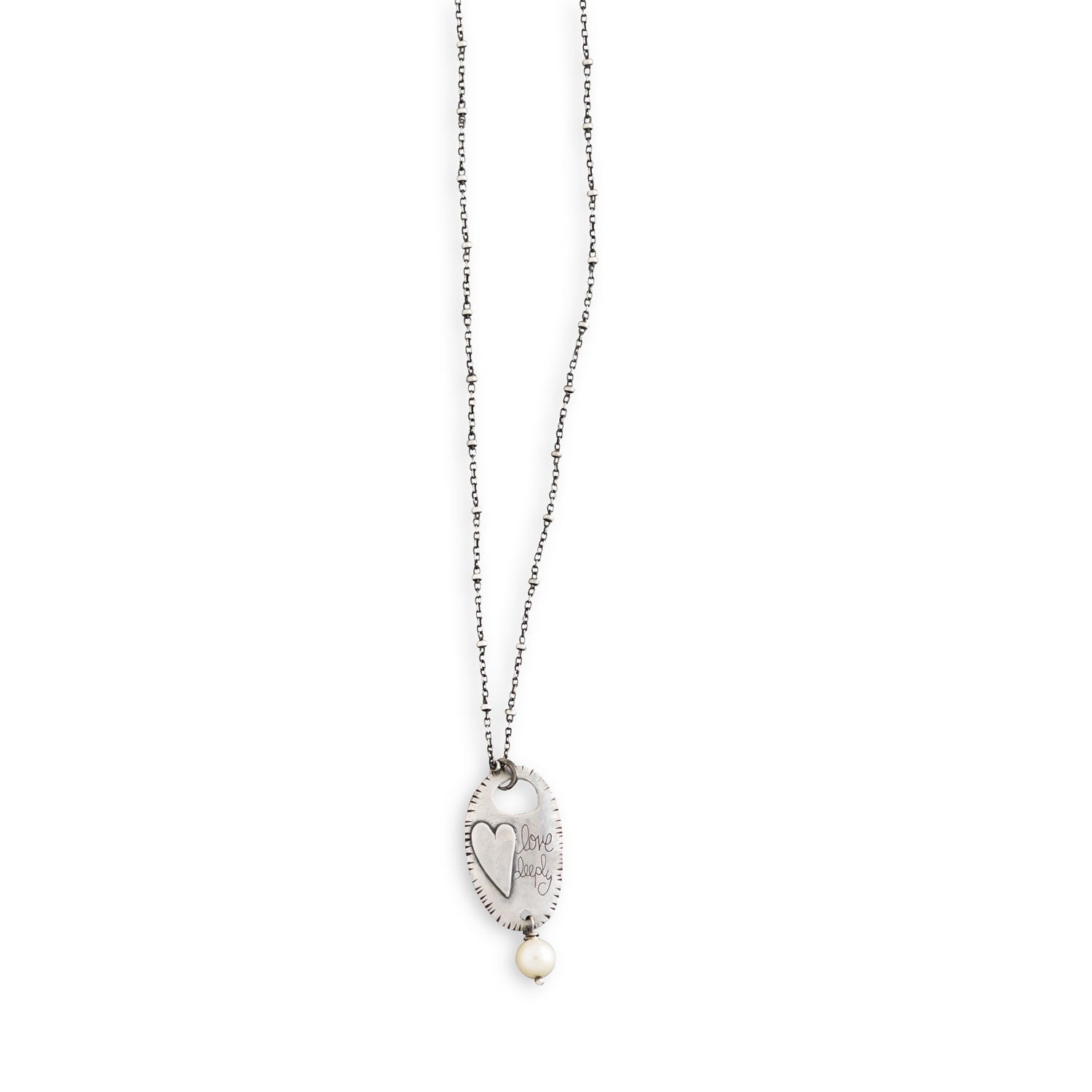Love Deeply with Pearl Necklace