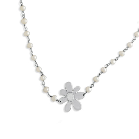 Spring Bloom Flower Necklace