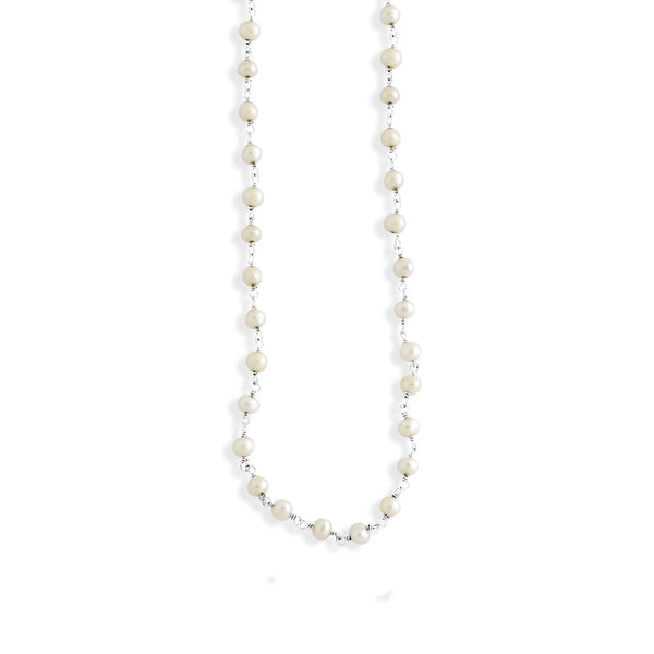 Small Beaded Pearl Chain