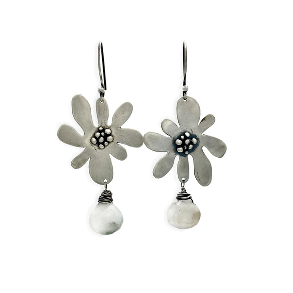 Funky Flower Earrings