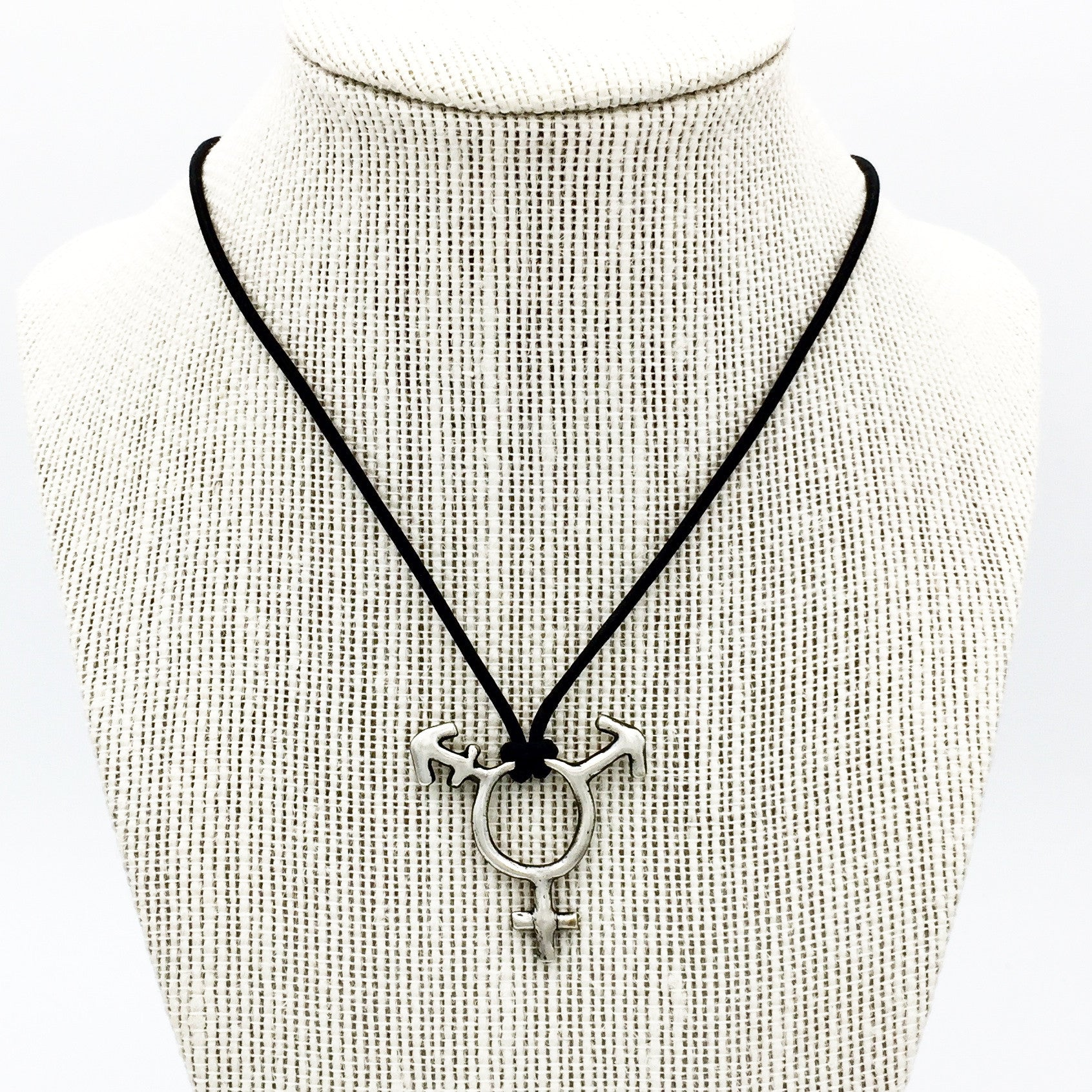 Transgender Symbol Necklace