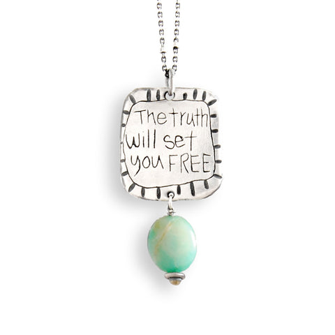 The Truth Will Set You Free Necklace