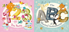 123 Tea Party - Storytime party packs (less than 6 left!)
