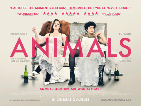 Animals (a film based on the book by Emma Jane Unsworth)